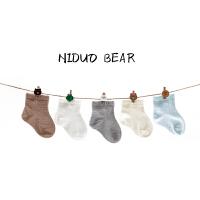 夏季婴儿袜子0-3-6-12个月松口棉0-1岁宝宝袜薄款