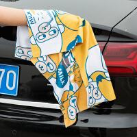 洗车毛巾擦车布车用吸水不掉毛玻璃小号超细纤维抹布