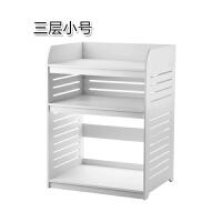 放微波炉的置物架简易2层收纳架双层烤箱储物架厨房多功能整理架