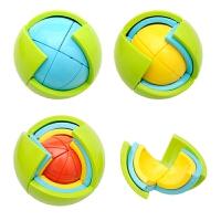 积木益智球3D智力球迷宫玩具儿童宝宝异形开发立体图DIY拼装魔方