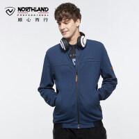 【品牌特惠】诺诗兰户外男士防风保暖贴身舒适休闲运动卫衣GL065603
