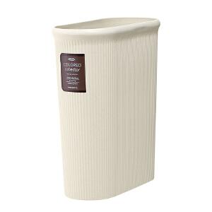 [当当自营]Lustroware 原装进口窄形垃圾桶(L)14L / L-1071/IV
