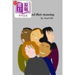 【中商海外直订】Faces and Their Meaning