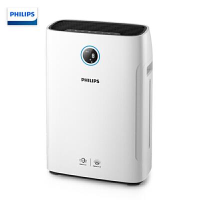 飞利浦(Philips) 空气净化器加湿器一体机AC2726 除甲醛除雾霾除过敏原除细菌病毒 纳米无雾加湿 加湿速率500ml/h,静音模式!