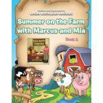 【预订】Summer on the Farm with Marcus and MIA: Book 2