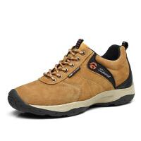 登山鞋男户外休闲鞋秋季青年潮流百搭运动鞋子隐形内增高6CM