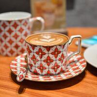 骨瓷咖啡杯陶瓷欧式简约创意英式下午茶杯小清新咖啡杯