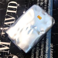 旅行箱箱子行李箱男拉杆箱女万向轮登机箱密码箱韩版硬 银色 20寸(顺丰+送透明箱套)