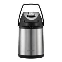 气压式热水壶304不锈钢暖水瓶气压壶保温壶大容量热水瓶 气压壶2.5L