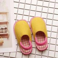 手工纳底春夏儿童拖鞋室内凉拖1-3-5岁小童幼儿园家居鞋