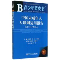 青少年蓝皮书:中国未成年人互联网运用报告(2013~2014) 李文革,沈杰,季为民 社会科学文献出版社