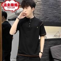 男士短袖T恤2019新款夏季圆领潮牌半袖男体恤韩版潮流上衣服