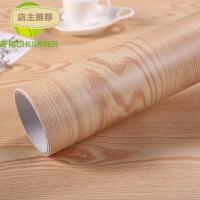 家具翻贴膜 自粘墙壁纸 衣柜贴波音软片地板木纹墙贴纸防水加厚SN3701 超