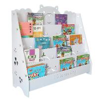 儿童书架小学生幼儿园宝宝绘本架卡通书柜经济型多层书架落地简易