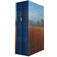 The Little House Books [A Deluxe Hardcover Edition] 小木屋的故事豪