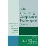 【预订】Self-Organizing Complexity in Psychological Systems