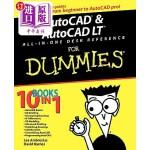 【中商海外直订】AutoCAD and AutoCAD LT All-In-One Desk Reference fo