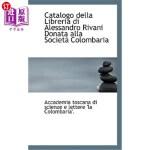 【中商海外直订】Catalogo Della Libreria Di Alessandro Rivani Donata