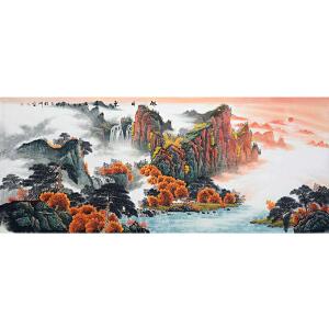 中国美协会员,中国书协会员,龙云书画院院长侯桂峰(旭日东升)18