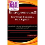 【中商海外直订】Entrepreneurs!! Your Small Business Do It Right