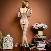 诱惑性感猫兔女郎情趣内衣开档丝袜大码制服激情套装女 882黑色开档 均码90-145斤都可穿