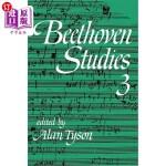 【中商海外直订】Beethoven Studies 3