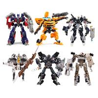 变形金刚4玩具酷变金刚大黄蜂擎天柱公仔玩具汽车机器人模型