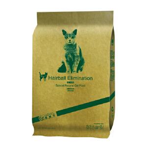 耐威克 高级天然猫粮 除毛球猫主粮去毛球成猫粮 2.5KG