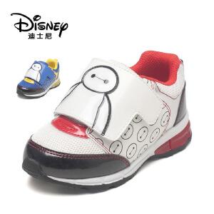 【达芙妮集团】迪士尼 秋季时尚休闲童鞋魔术贴儿童男鞋