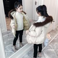 儿童冬季韩版2018新款中大童加厚外套棉服棉衣潮女孩