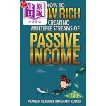 【中商海外直订】How to Grow Rich by Creating Multiple Streams of Pa