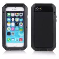 苹果iPhone6S手机壳三防iPhone6plus保护硅胶套6金属防摔迷彩全包