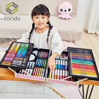 儿童画笔套装礼盒画画工具小学生水彩笔绘画美术用品女孩礼物