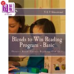 【中商海外直订】Blends to Win: Phonics Based Reading Program