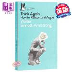 【中商原版】再想想 英文原版 Think Again: How to Reason and Argue