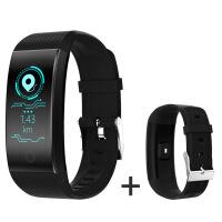 智能手环男测心率血压防水彩屏运动手表女小米vivo计步器华为oppo +替换表带