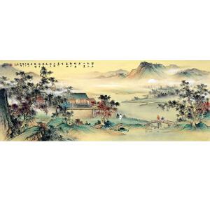中国美协会员,中国书协会员,龙云书画院院长侯桂峰(金画古诗)3