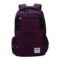 FLOMO 富乐梦 CL-233U紫色 中小学生中高年级书包护脊减负休闲双肩包 当当自营