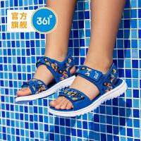 【1件3.5折到手价:69.6】361度童鞋 男童沙滩凉鞋儿童鞋 中大童 2019年夏季新品N71922608