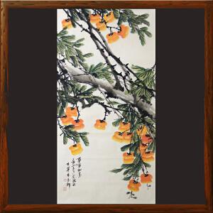花鸟画《事事如意》李宗源R4823 浙江美协 老艺术家藏品