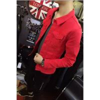 快手红人高迪同款男外套潮流牛仔衣社会精神小伙韩版修身夹克帅气
