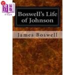 【中商海外直订】Boswell's Life of Johnson
