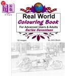 【中商海外直订】Real World Colouring Books Series 17