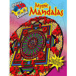 3-D Coloring Book--Mystic Mandalas