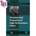【中商海外直订】Structure and Properties of High-Performance Fibers
