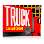 Truck 大红卡车 英文原版绘本 凯迪克奖 平装色彩鲜明 没有文字 想象力锻炼 英语启蒙阅读故事图画书 Donlal