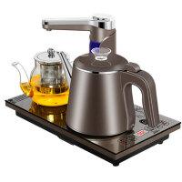 容声 全自动上水壶电热烧水壶家用电茶壶煮保温一体泡茶专用茶台器 一键全自动上水双层防烫电热水壶套装