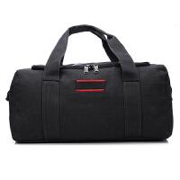20180830220954710大容量帆布旅行包手提行李包袋长途单肩搬家旅行袋大包男托运包女 特大号 大