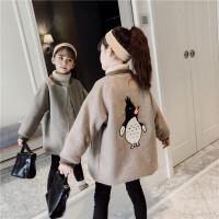 儿童毛呢外套秋冬季2018新款韩版童装男孩夹棉厚款呢子大衣