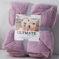 珊瑚绒毛毯被子午睡单人男加厚毯子冬季冬用保暖双层女床单